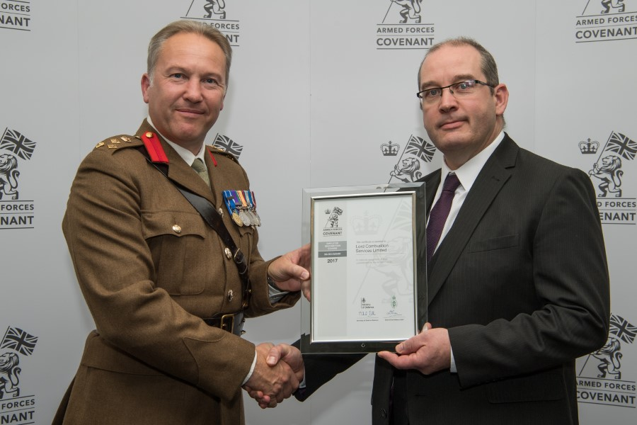 Armed Forces Present Silver Awards To Champion Employers