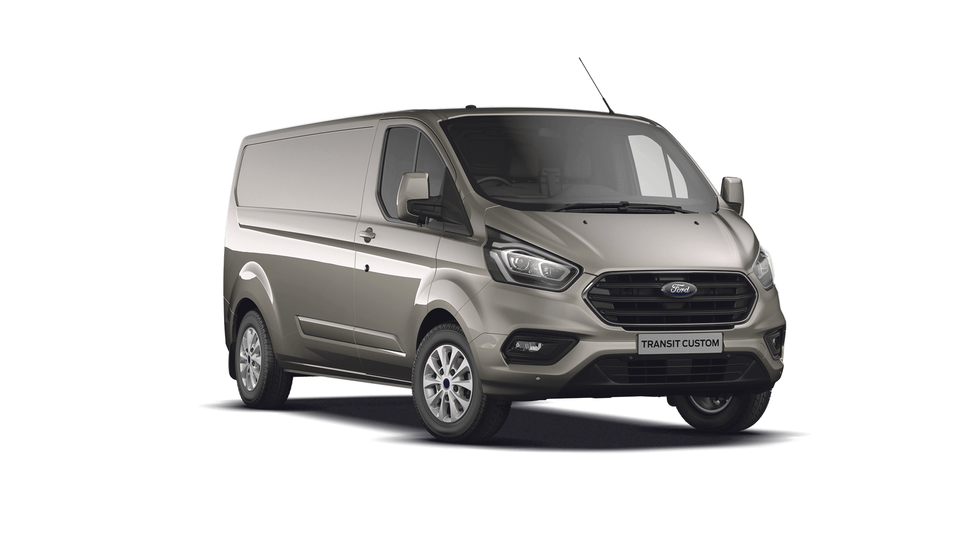 New Transit Custom Limited Diffused Silver Trust Ford