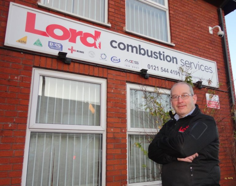 Stuart Smith Managing Director Lord Combustion Services